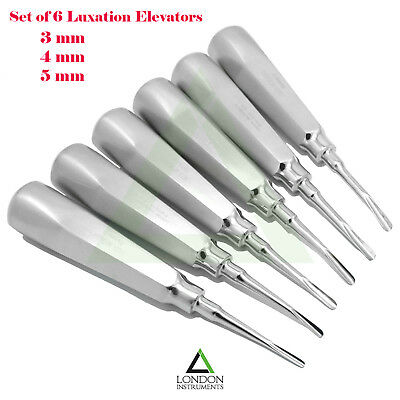 Dental Surgical Root Elevators Tooth Extraction Extracting Dentist Instruments