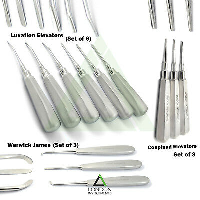 Tooth Extraction Dental Luxating Root Elevators Coupland Luxation Instruments