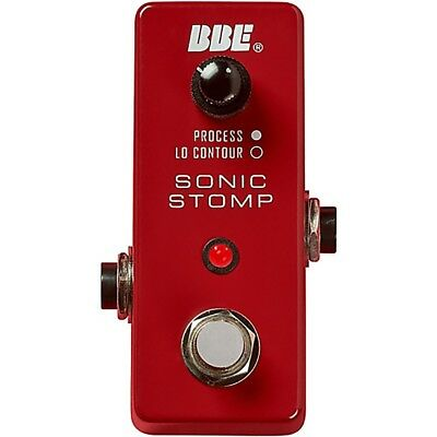 BBE MS-92 Mini Sonic Stomp Sonic Maximizer Guitar and Bass Effects Pedal