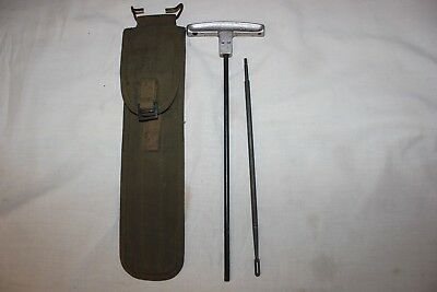 US Military Issue WW2 M1 Carbine Rifle Cleaning Kit 1944 .30 Caliber .30Cal  A03