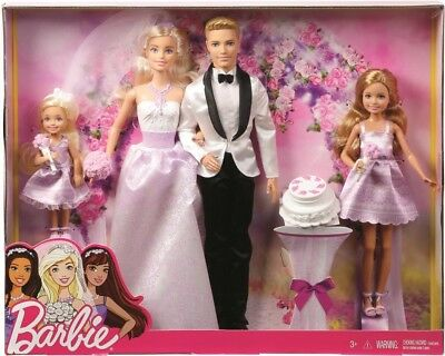 NEW Barbie Wedding Giftset from Mr Toys
