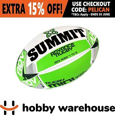 Summit Advance Mini Rugby Union Ball - Size 3