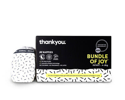 Thankyou Nappies Bundle Of Joy Infant - 96 Pack
