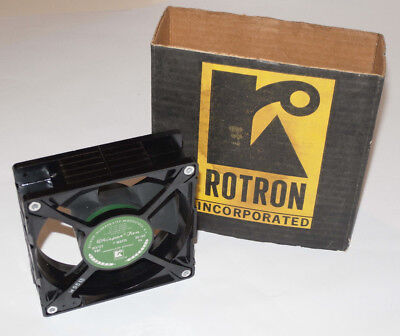 Unused Vintage Rotron Whisper Fan! 7  Watt! Nos! New!  Made In Usa! W9513