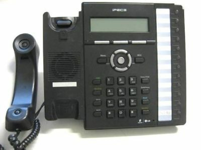 iPECS LIP-8012E IP Gigabit Phone in Black with Handset + Stand