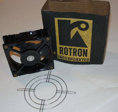 Unused Vintage Rotron Whisper Fan! With Grill! 7  Watt! Nos! New!  Made In Usa