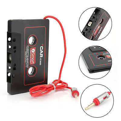 Car Audio Tape Cassette to Jack AUX For MP3 IPhone 3.5mm Connector  UK Seller