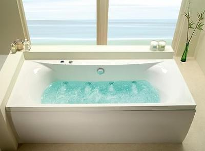Carron Albany 8 Jet Whirlpool Bath | Double Ended 1700 x 700 mm | Made in the UK