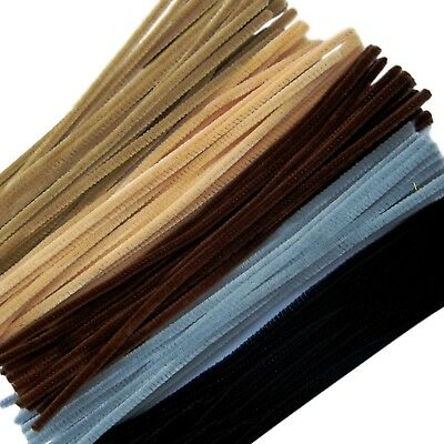Pipe Cleaners Jumbo 300 mm x 6 mm Pack size 100 Multi-Cultural