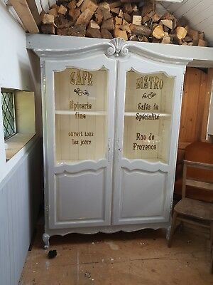Vintage Antique Shabby chic haberdashary Aporthecary Cabinet ,kitchen,bedroom ,