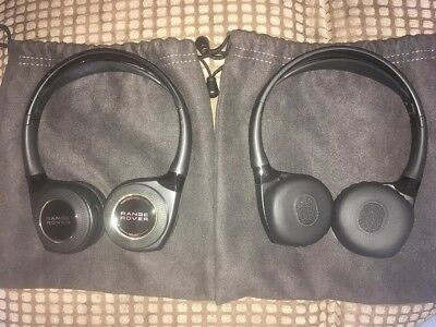 2X Genuine Range Rover In-Car Wireless Headphones
