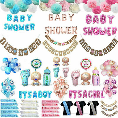BABY SHOWER SASHES Mummy to be Sash Baby Shower Girl Boy Balloons Photo Props