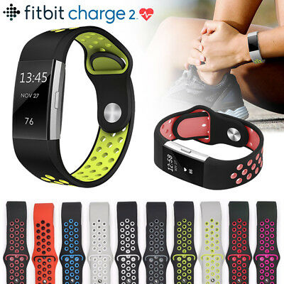 FitBit Charge 2 Strap Replacement Silicone Wrist Band Bracelet Sports Accessory