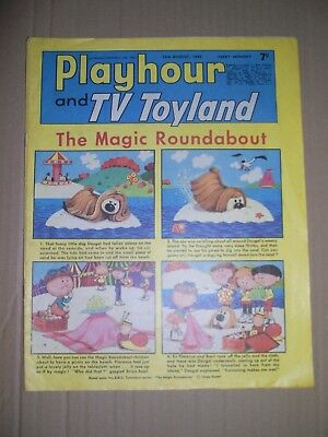 Playhour and TV Toyland issue dated August 19 1967