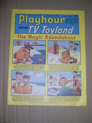 Playhour and TV Toyland issue dated September 2 1967