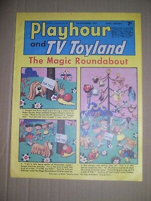 Playhour and TV Toyland issue dated November 4 1967