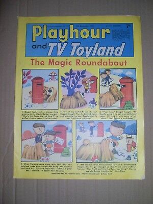 Playhour and TV Toyland issue dated December 9 1967