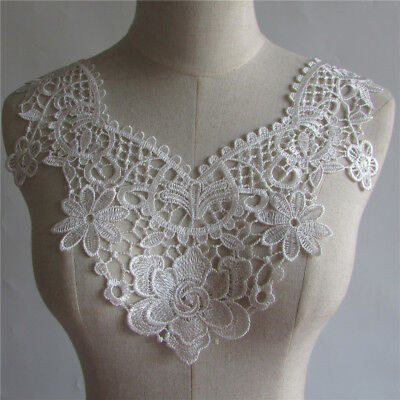 high quality Vintage Lace Collar Clothing Sewing Applique neckline YL181