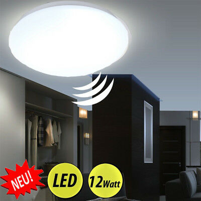 12W Motion Sensor Radar LED Ceiling Down Light Living Fixture Bathroom Hallway