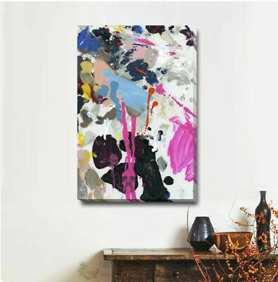 Abstract Stretched Canvas Print Framed Wall Art Home Office Shop Decor Deco A333