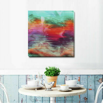Abstract Stretched Canvas Print Framed Wall Art Home Office Decor Gift Deco A335