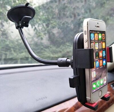 360º Car Windshield Dashboard Suction Cup Mount Holder Cradle For Cell-Phone