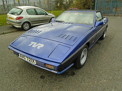 1982 TVR  BLUE 2,8i TASMIN CONVERTIBLE  FANTASTIC CONDITION INSIDE AND OUT