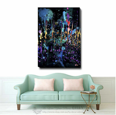Abstract Stretched Canvas Print Framed Wall Art Home Office Shop Decor Gift A349