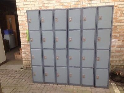 personal/staff lockers(set of 4,6available)
