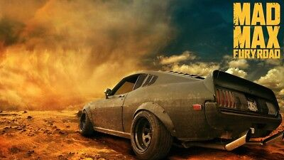 Mad Max Ford Falcon XB V8 Fury Road Interceptor POSTER A copy