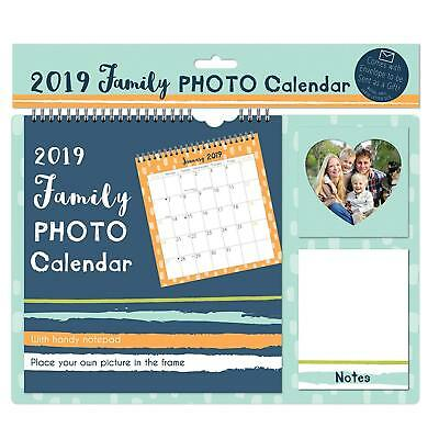 2019 PERSONALISE Your Calendar 2019 with Your Own Photos Month Calendar New Year