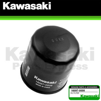 New 1985 - 2018 Genuine Kawasaki Oil Filter 16097-0008 Fits Ninja Vulcan Versys