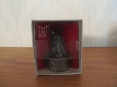 "Torino Pewter Tooth Fairy ""Rabbit"" Box - NEW"