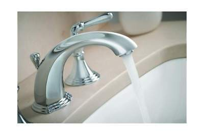 Kohler K 394 4 Bn Devonshire Widespread Bathroom Sink Faucet With