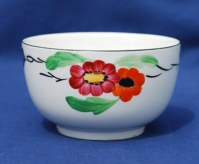 """HANCKOCKS Hand painted """"IVORY WARE"""" PIN DISH. Very Good Condition"""