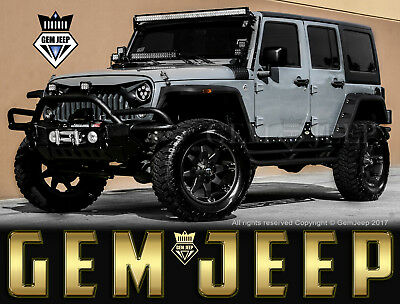 2014 Jeep Wrangler Fully Customized Unlimited Sport Utility 4-Door Custom Jeep - 2014 Jeep Wrangler Unlimited Sport -  LIFTED - Custom Interior