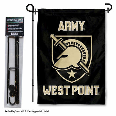 Army Black Knights Athena Garden Flag and Yard Stand Included
