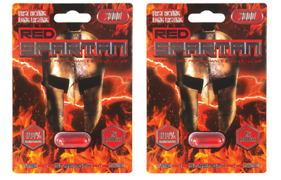 2 x Pills Red Spartan 3000 Man Male Sexual Enhancer just $9.99 for 1 Pill NO TAX