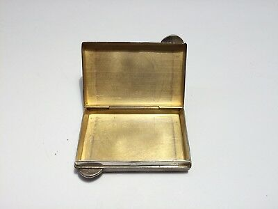 Vintage Tiffany & Co. Sterling Silver Pill Box Case