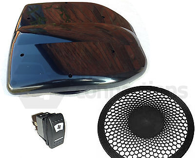 Low Profile powered roof fan air vent extractor motorhome dog van horse box BLK