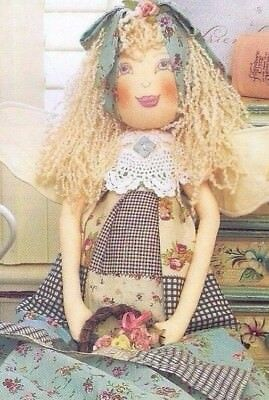 Cloth Doll Sewing Patterns Angel 73 cm 29 in Australian Patchwork Magazine 4/11