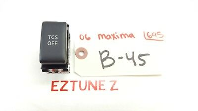 2004-2008 Nissan Maxima Tcs Traction Control Switch Button Oem