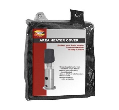 Area Heater Cover with Velcro Tab to Secure