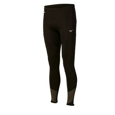 (XX-Large, Black-Charcoal) - Mizuno Running Mens Breath Thermo Tight. Best Price