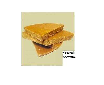 Grade B Montana NATURAL BEESWAX 100% RAW BEES WAX Free Shipping! from Oz to LBs