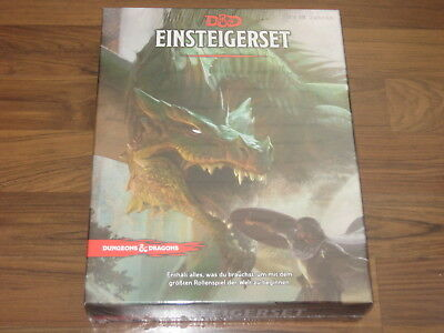 D&D 5te Edition Einsteigerset deutsch WotC Gale Force Nine 2018 Neu OVP