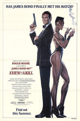 A View To A Kill 1985 27x41 Orig Movie Poster FFF-14943 Fine, Very Fine