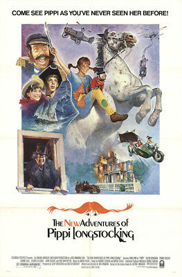 The New Adventures Of Pippi Longstocking 1988 27x41 Orig Movie Poster FFF-13472