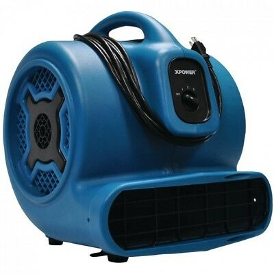 XPOWER Commercial Industrial Air Mover Blower Portable 4 positions 1hp 3 speeds