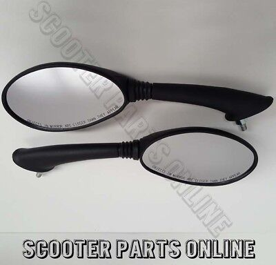 Genuine Vespa ET2 and ET4 Mirror Set Left and Right